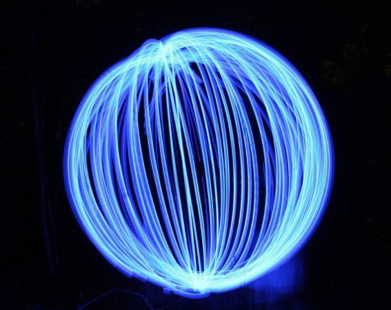 orbe light painting
